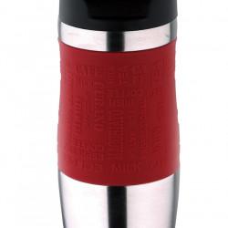 Термочаша Bergner 400мл червена - Чаши, Чинии, Продукти за Сервиране