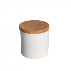 Порцеланов съд с бамбуков капак TCC205 - Чаши, Чинии, Продукти за Сервиране