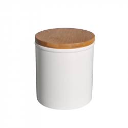 Порцеланов съд с бамбуков капак TCC207 - Чаши, Чинии, Продукти за Сервиране