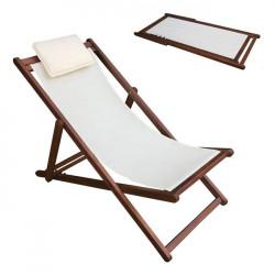 Плажен стол Memo.bg модел Dek 104x58x72 - Шезлонги