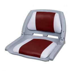Седалка за капитанско място на моторна лодка/яхта,  521 x 457 x 408 mm, Червена/Бяла - За яхти и лодки