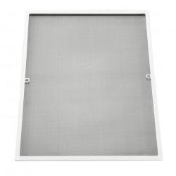 Мрежа против насекоми , алуминиева рамка 100 x 120 cm, Бяла - Дограми и Комарници