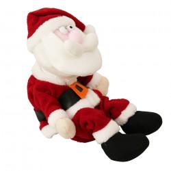 Дядо Коледа, който се смее и подскача - 31см - Сезонни и Празнични Декорации
