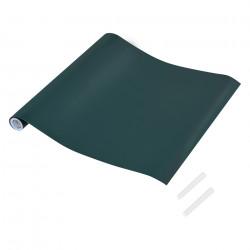 Комплект от 5 броя рула с фолио, изпълняващо функции на черна дъска, Зелено - Аксесоари