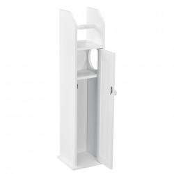 Шкаф за баня 78 x 20 x 18 cm, Бял - Шкафове за Баня