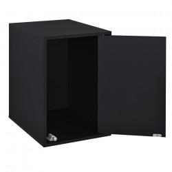 Комбинирани артикули - вратички за шкафове към модули за съхранение и стенен монтаж27x42 см. - черен - Sonata G