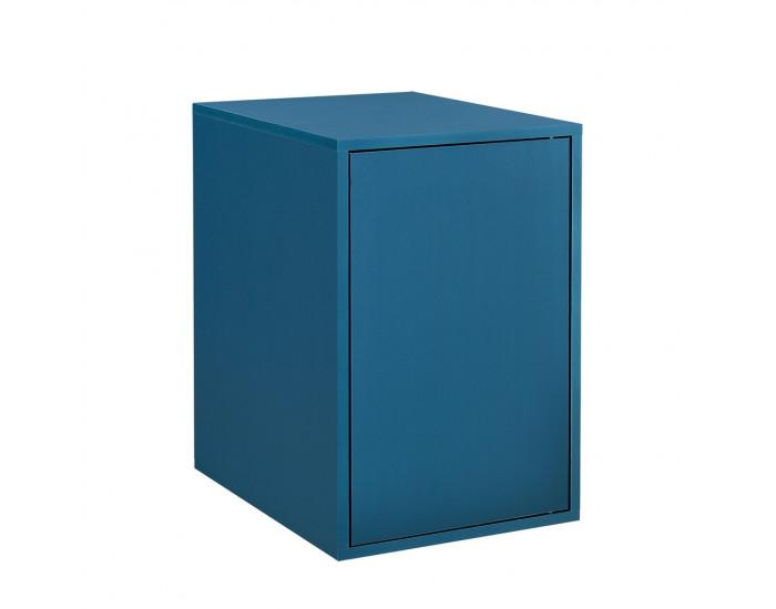 Комбинирани артикули - вратички за шкафове към модули за съхранение и стенен монтаж 27x42 см. - тюркоазено синьо -