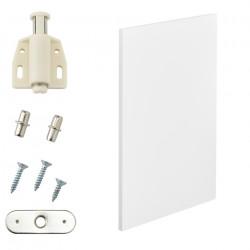 Комбиниращи се артикули - вратички за шкафове към модули за съхранение и стенен монтаж 27x42 см. - бял - Sonata G
