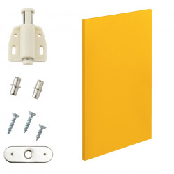 Комбинирани артикули - вратички за шкафове към модули за съхранение и стенен монтаж 27x42 см. - цвят горчица - Sonata G
