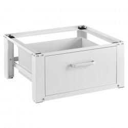 Платформа за перална машина 63 x 54 x 31 cm, до 150 kg, Стомана, Бяла - Перални