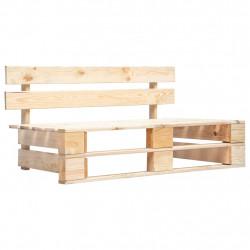 Sonata Градинска пейка от палети, FSC дървесина - Градински Дивани и Пейки