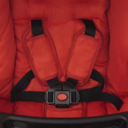 Sonata Бебешка количка, червена, 102x52x100 см - Детски превозни средства