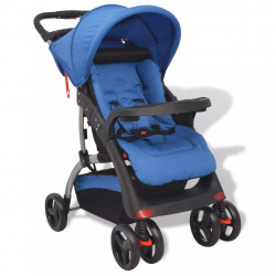 Sonata Бебешка количка, синя, 102x52x100 см - Детски превозни средства