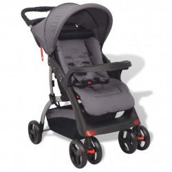 Sonata Бебешка количка, сива, 102x52x100 см - Детски превозни средства