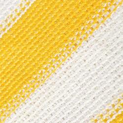 Sonata Балконски параван, HDPE, 75x400 см, жълто и бяло - Сенници и Чадъри