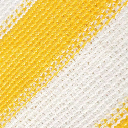 Sonata Балконски параван, HDPE, 75x600 см, жълто и бяло - Сенници и Чадъри