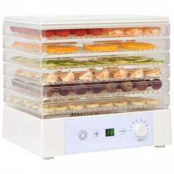 Sonata Дехидратор за храни с 6 тави, 250 W, бял - Малки домакински уреди