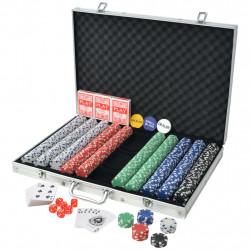 Sonata Покер комплект с 1000 чипа, алуминий - Спортни Игри
