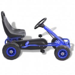 Sonata Детски картинг с педали и гуми, син - Детски превозни средства