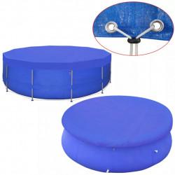 Sonata Покривало за басейн от PE, кръгла форма, 460 см, 90 г/м2 - Басейни и Спа