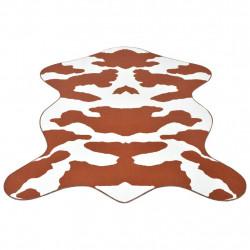 Sonata Килим 70 x 110 см, кафява кравешка шарка и форма - Килими, Мокети и Подложки