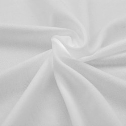 Sonata Разтегателен калъф за маса, 2 бр, 120х60,5х74 см, бял - Маси