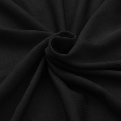 Sonata Разтегателен калъф за маса, 2 бр, 183х76х74 см, черен - Маси