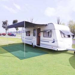 Sonata Килим за палатка, 250x500 см, зелен - Палатки