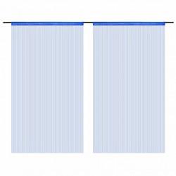 Sonata Пердета ресни, 2 бр, 140x250 см, сини - Завеси, Пердета и Кoрнизи