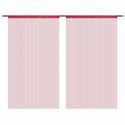 Sonata Пердета ресни, 2 бр, 140x250 см, бордо - Завеси, Пердета и Кoрнизи