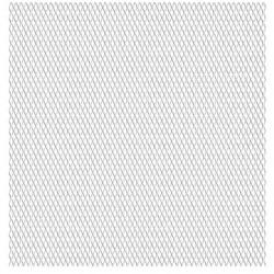Sonata Панел мрежа от неръждаема стомана, 50x50 см, 20x10x2 мм - Огради
