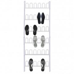 Sonata Закачалки за 18 чифта обувки, 2 бр, стомана, бели - Сравняване на продукти