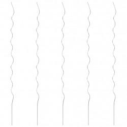 Sonata 5 бр Спирални колчета за растения, 170 см, поцинкована стомана - Аксесоари за градината