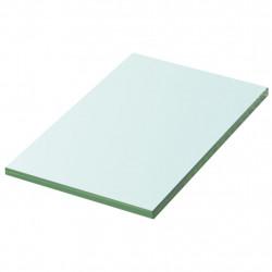 Sonata Плоча за рафт, прозрачно стъкло, 20 x 12 см - Етажерки