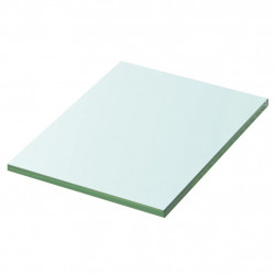 Sonata Плоча за рафт, прозрачно стъкло, 20 x 15 см - Етажерки