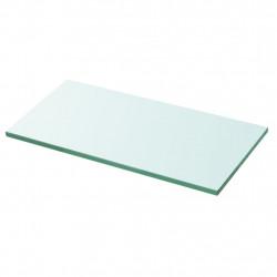 Sonata Плоча за рафт, прозрачно стъкло, 30 x 12 см - Етажерки