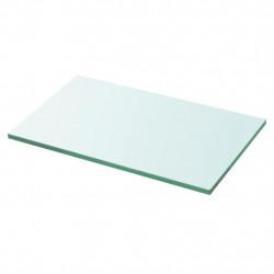 Sonata Плоча за рафт, прозрачно стъкло, 30 x 15 см - Етажерки