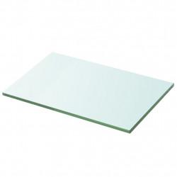 Sonata Плоча за рафт, прозрачно стъкло, 30 x 20 см - Етажерки