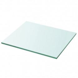 Sonata Плоча за рафт, прозрачно стъкло, 30 x 25 см - Етажерки
