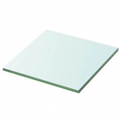 Sonata Плоча за рафт, прозрачно стъкло, 30 x 30 см - Етажерки