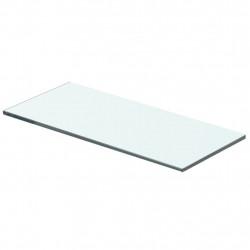 Sonata Плоча за рафт, прозрачно стъкло, 40 x 12 см - Етажерки