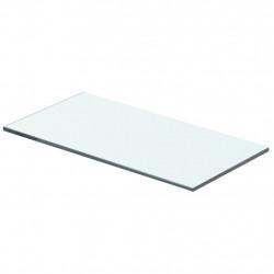 Sonata Плоча за рафт, прозрачно стъкло, 40 x 15 см - Етажерки