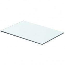 Sonata Плоча за рафт, прозрачно стъкло, 40 x 20 см - Етажерки