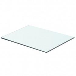 Sonata Плоча за рафт, прозрачно стъкло, 40 x 25 см - Етажерки