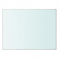 Sonata Плоча за рафт, прозрачно стъкло, 40 x 30 см - Етажерки