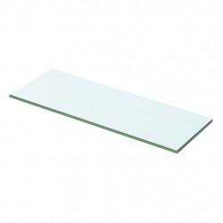 Sonata Плоча за рафт, прозрачно стъкло, 50 x 12 см - Етажерки