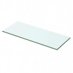 Sonata Плоча за рафт, прозрачно стъкло, 50 x 15 см - Етажерки
