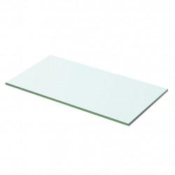 Sonata Плоча за рафт, прозрачно стъкло, 50 x 20 см - Етажерки