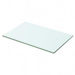 Sonata Плоча за рафт, прозрачно стъкло, 50 x 25 см - Етажерки