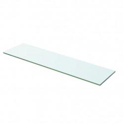 Sonata Плоча за рафт, прозрачно стъкло, 60 x 12 см - Етажерки